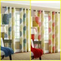 Mainstays Hanging Medallion Curtain Panel, Set of 2, 40 x 84 Each Panel - $23.99+