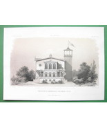 ARCHITECTURE PRINT : Berlin Villa of Industrialist Heckmann - $29.70