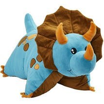 "Pillow Pets Triceratops Blue Dinosaur, 18"" Stuffed Animal Plush Toy - $37.07"