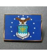 US Air Force USAF Large Rectangle Lapel Pin Badge 1.5 Inches - $5.75