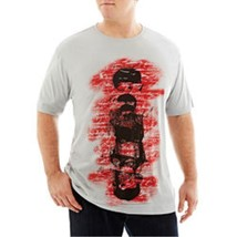 The Foundry Supply Co. Short-Sleeve Graphic Tee Grey Faces Msrp $32.00 S... - $12.99