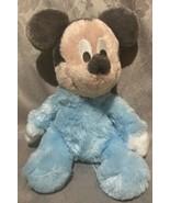 "Walt Disney World 9"" Plush Stuffed BABY MICKEY MOUSE Beanbag Rattle Chim... - $28.31"