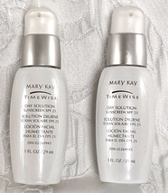 2 Mary Kay Timewise Day Solution Set Of Two New Old Stock With No Box - $19.79