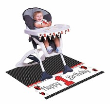 Red Ladybug Fancy 1st Birthday Party High Chair Decorating kit - $6.55