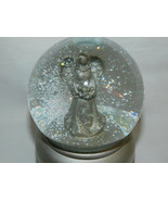 Musical Snow Water Globe Angel with Baby Believe Plays Peace on Earth 5 ... - $10.99