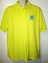 RALPH LAUREN - XL - CROSSED - MALLETS - FLORESCENT - GREEN - POLO - SHIR... - $53.99