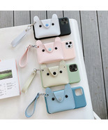 Phone Case Cute Dog Card Hold Wallet Phone Case For IPhone SE 2020 11 Pr... - $6.18+
