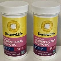 2 X  Renew Life Women's Care Probiotic 30 Capsules Exp 04/2022 - $19.99