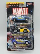 Marvel X-Men Die Cast Cars 3 Pack Storm Wolverine Mystique Collection #6 2003 - $13.85