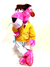 Pink Panther Touch of Velvet 1980 Plush Collectible Toy 15.5 inches Tall - $48.50