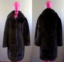 Liz Claiborne Classic Faux Fur Coat Jacket Size S - $99.99