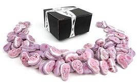 Vidal Gummi Filled Skulls Candy, 2.2 lb Bag in a BlackTie Box