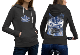 Toronto Maple Leafs  Black Hoodie 2D For Women - $53.99