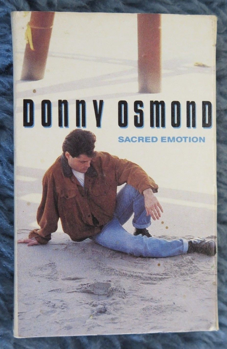 Primary image for Donny Osmond Scared Emotion Cassettes 1989 Groove Capitol Records