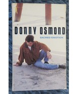 Donny Osmond Scared Emotion Cassettes 1989 Groove Capitol Records - $4.49