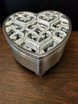 Lenox - Crystal Embellished Heart Treasure Box - $29.65