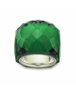 Swarovski Large NIRVANA EMERALD GREEN Crystal Ring Size 58 (US 8) NIB RARE - $296.01