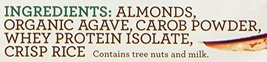 Rise Bar Non-GMO, Gluten Free, Soy Free, Real Whole Food, Whey Protein Bar 17g,  image 3