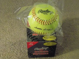 Rawlings Official Fastpitch Softball Neon Green-FREE SHIPPING! - $9.67