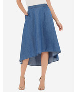 The Limited Hi-Low Chambray Skirt,size 12, NWT - $45.00