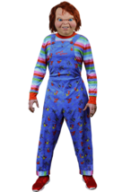 Trick or Treat Childs Play 2 Chucky Deluxe Adult Mens Halloween Costume ... - $99.99 CAD
