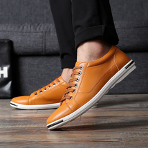 Casual Luxury Fashion Wh Plus Leather Male Size Shoes Men Brand Merkmak Flats 48 wTH8XF7q7S