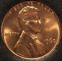 1960 Lincoln Penny Choice BU LD #0098 - $0.89