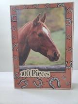 """E&L Corporation 100 Piece Jigsaw Puzzle Horse 9"""" x 12"""" Ages 5-10 - $7.69"""