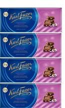 FAZER Karl Fazer Liquorice drage in milk chocolate 4 x 200 g (4 pcs) - $33.17