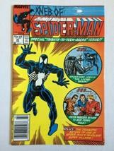 Web Of Spider-Man 35 Marvel Comics Peter Parker's Return To Midtown High... - $4.94