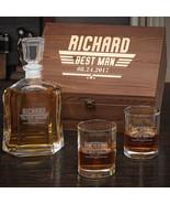 Maverick Custom Argos Decanter Whiskey Box Set with Eastham Glasses - $129.95