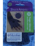 Shock Athletic Yoga Gloves - BRAND NEW IN PACKAGE - ONE SIZE FITS MOST -... - $9.89
