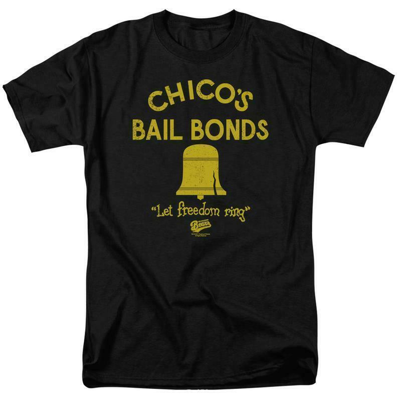 Bad news bears t shirt chicos bail bonds 1970 s movie retro cotton tee par133