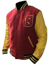 Crows Tom Welling Smallville Letterman Clark Kent Varsity Bomber Jacket  image 4