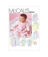 McCall's Patterns M7219 Infants' Buntings, Jumpsuits, Hats and Blanket S... - $14.21