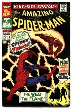 AMAZING SPIDER-MAN ANNUAL #4 1967-Human Torch-High Grade-VF/NM - $212.19