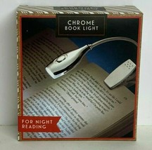 Merch Source Chrome Book LED Light For Night Reading Includes Batteries - $9.17