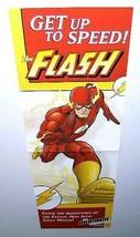 2002 The Flash 34x11 DC Comics comic book shop promotional promo display poster - $19.79