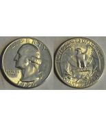 1954-S WASHINGTON QUARTER- LUSTROUS !! GEM BRILLIANT UNCIRCULATED - $18.69