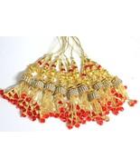 Gypsy tassels decorative lot 10 pc creative boho design jewels rakhi mak... - $21.96