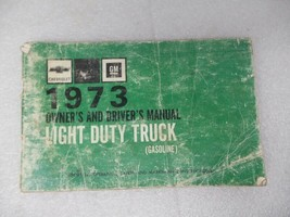 Chevy Pickup TCHEV10   1973 Owners Manual 17361 - $17.77