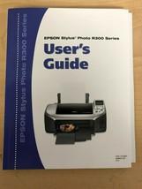 Epson R300 Stylus Photo Printer User's Guide/Manual - $9.79