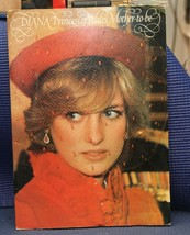 DIANA PRINCESS OF WALES, MOTHER-TO-BE SOFT COVER BOOK 1982 - $7.34