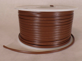 25 ft Brown 18/2 SPT-1 U.L. Listed Parallel 2 Wire Plastic Covered Lamp ... - $13.38