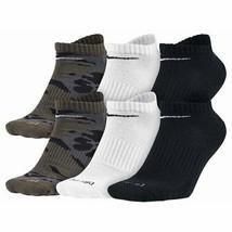 Nike Men's 6-Pack Dri-FIT Cushion No Show Socks Camo 5708 902 - $21.21