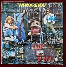 Autographed / Signed The Who - Vinyl LP - 3 Members - $649.00