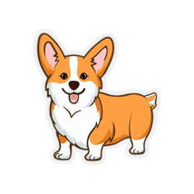 Pembroke Welsh Corgi Kiss-Cut Stickers - $6.00