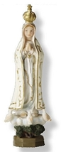 Our Lady Of Fatima Statue - 4.0 Inch - $16.95