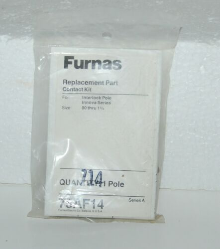 Furnas 75AF14 Replacement Part Contact Kit Innova Series Size 00 thru 1 3/4
