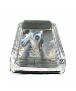 "Funny Face Animals D1 Square Ashtray 4"" x 3"" Smoking Cigarette - $12.82"